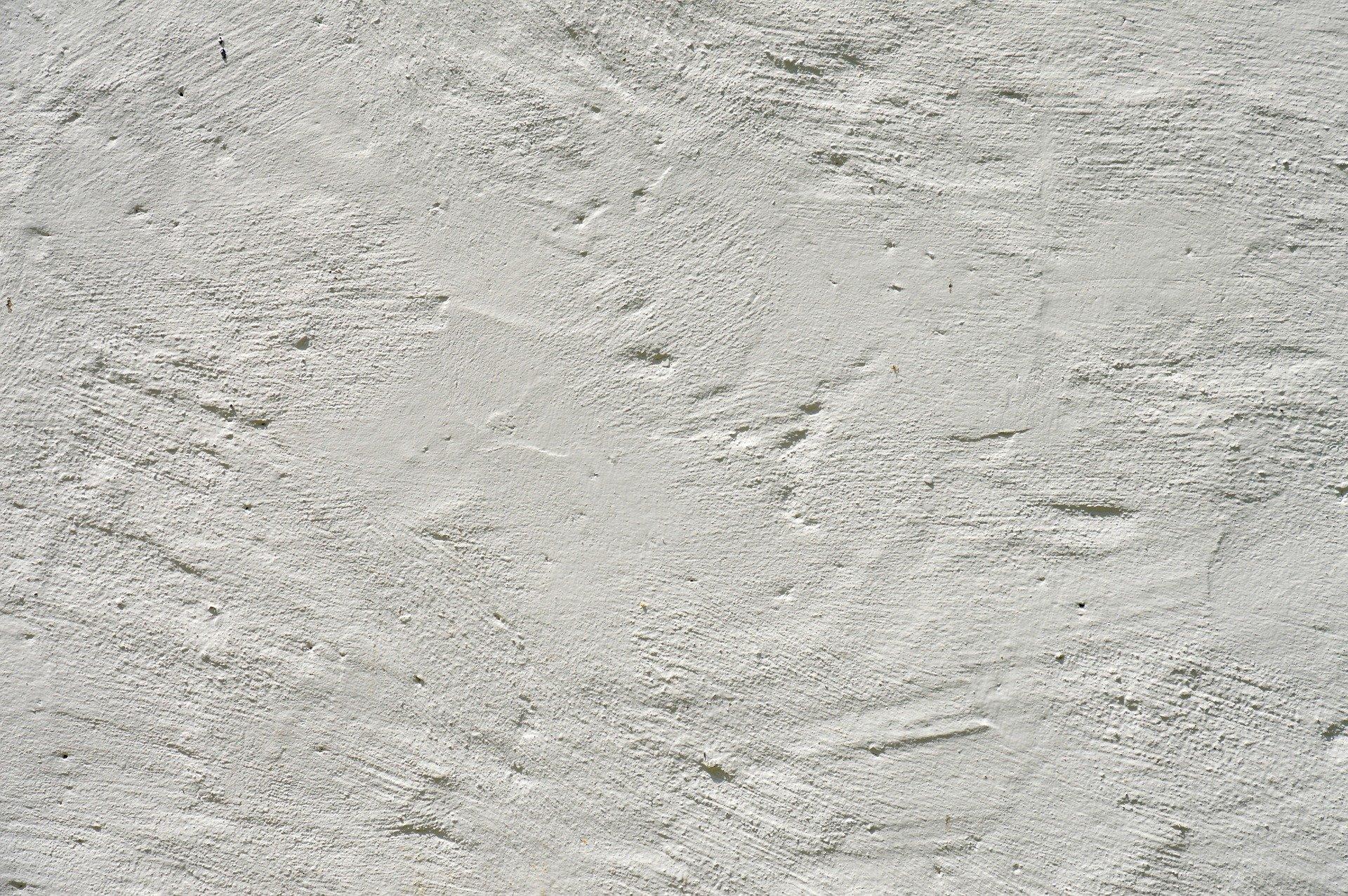 Tynk i jego tekstura na ścianie